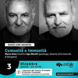 Marco Aime incontra Ugo Morelli - Comunità e immunità