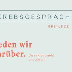 Brunecker Krebsgespräche: Krebs betritt die Bühne