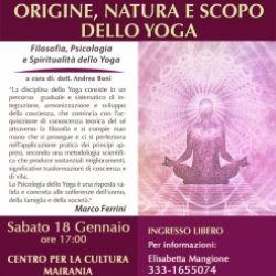 Origine, natura e scopo dello yoga