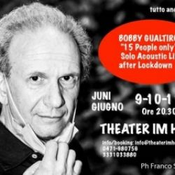 Bobby Gualtirolo 15 people only - Solo Acoustic Live