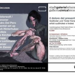 il dolore del presente - una mostra di artisti sudtirolesi e