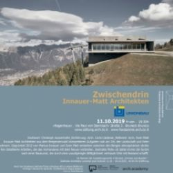 Innauer-Matt Architekten: Zwischendrin