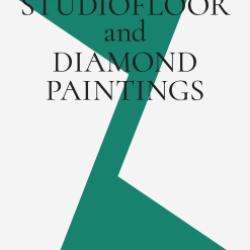 Michael Krebber - Studiofloor and Diamond Paintings