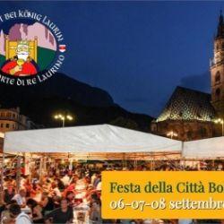 Festa della città Bolzano 2019 - Alla corte di Re Laurino