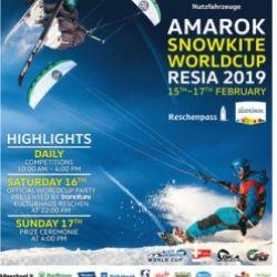 Amarok Snowkite Worldcup 2019