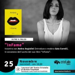Ambra presenta il suo nuovo libro InFame