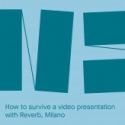 How to survive a video presentation