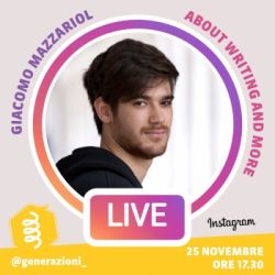 Generazioni LIVE | Giacomo Mazzariol