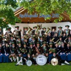 Concerto di primavera della banda musicale di Stegona