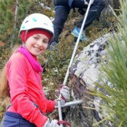 Klettersteig-Camp für Familien in Bruneck