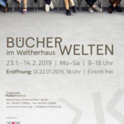 Bücherwelten im Waltherhaus 2019