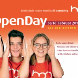 Open Day - LBS Handel Grafik Hotel Gutenberg