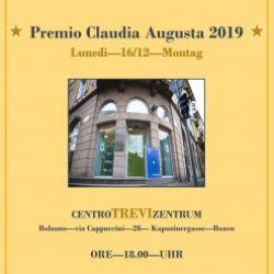 Premio Claudia Augusta 2019