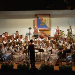 Concerto di pentecoste della banda musicale di Meltina