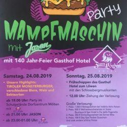 Mampfmaschin Party-140 anni del ristorante-albergo Zum Löwen