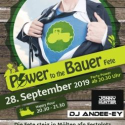 Festa Power to the Bauer
