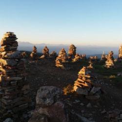 Escursione all'alba sugli omini di pietra Stoanernen Mandln