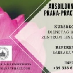 PRANA-Ausbildung zum Prana Practictioner mit Barbara Wieser