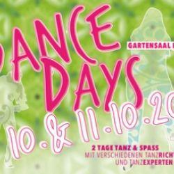 Dance Days 10. & 11. Oktober 2020