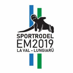 Campionati europei slitta e slitta con corna 2019
