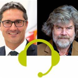 Reinhold Messner incontra Arno Kompatscher