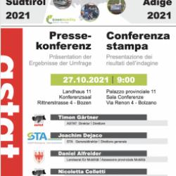 Conferenza stampa - Mobilità locale in Alto Adige 2021