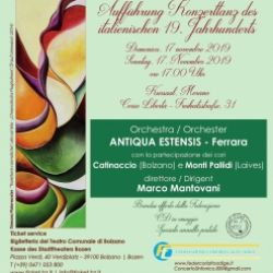 Concerto sinfonico di Ballabili dell'Ottocento italiano