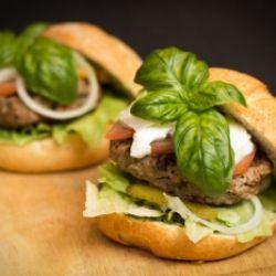 Hamburger de luxe - lecker und gesund