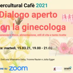 Intercultural Cafè: Benessere fisico, alimentazione e stili