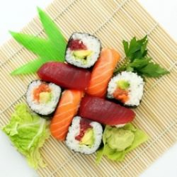 Modernes Sushi To Go