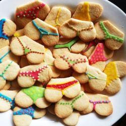 Cake design - Meravigliosi biscotti con i colori della prima