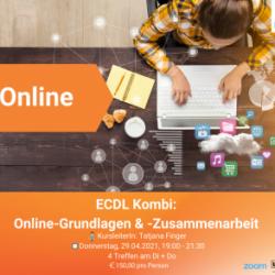Online-Kurs: ECDL-Kombi: Online-Grundlagen & -Zusammenarbeit