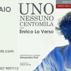 """Enrico Lo Verso in scena con """"Uno Nessuno Centomila"""