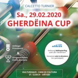 Torneo Calcio Balilla: Gherdëina Cup 2020