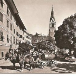 La stagione del raccolto a Termeno - Come era in passato