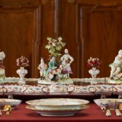 Zu Tisch beim Fürstbischof