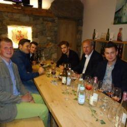 Degustazione di vini Azienda vinicola Rebhof