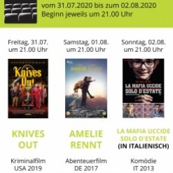 Open Air Kino im Kapuzinergarten