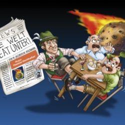 Theater Neustift: Die Welt geat unter!