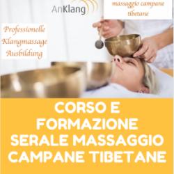 Corso e Formazione SERALE Massaggio Campane Tibetane