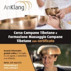 Corso e Formazione Massaggio Campane Tibetane conCertificato