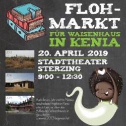 Mercatino di libri per un orfanotrofio in Kenia