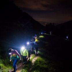Escursione climatoterapeutica notturna alla cascata