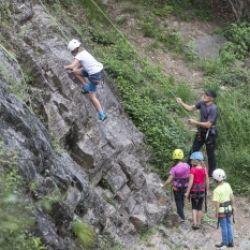Corso d'arrampicata per bambini da 7-14 anni