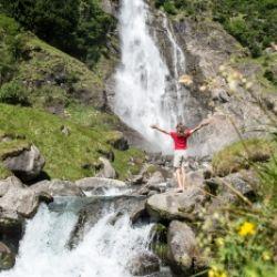Escursione climatoterapeutica alla cascata di Parcines