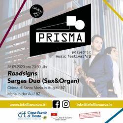 PRISMA: Poliedric Music Festival 2020 - Roadsigns