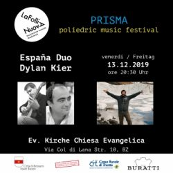 PRISMA: Poliedric Music Festival - España Duo & Dylan Kier