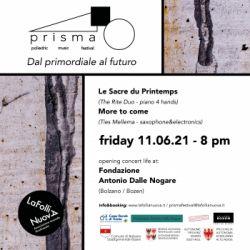 PRISMA: Poliedric Music Festival -Transition I