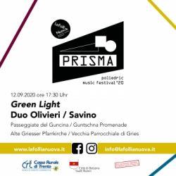 PRISMA: Poliedric Music Festival 2020 - Green Light
