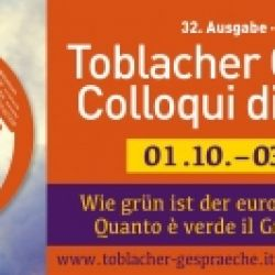 Colloqui di Dobbiaco 2021, 1-3 Ottobre